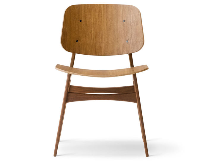 soborg wood base chair