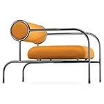 sofa with arms lounge chair - Shiro Kuramata - Cappellini