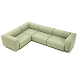 soft modular sectional sofa  -