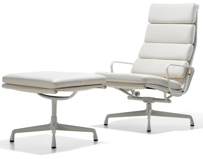 Eames Soft Pad Lounge Chair eames® soft pad group lounge chair & ottoman - hivemodern