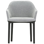 softshell chair with four leg base  -