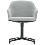softshell chair with four star base - Bros Bouroullec - vitra.