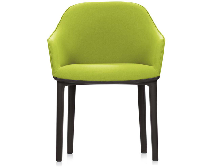 softshell chair with four leg base