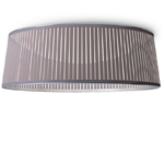 solis drum flush ceiling lamp  -