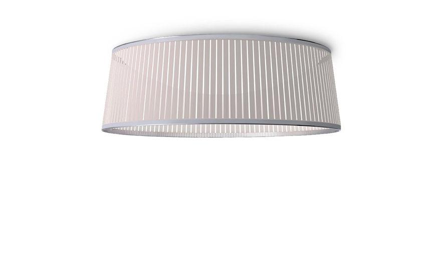 solis drum flush ceiling lamp