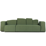something like this sofa with arms  -