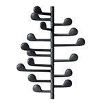song wall mounted coat rack - Altherr & Molina Lievore - arper