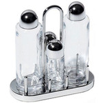 alessi sottsass condiment set  -