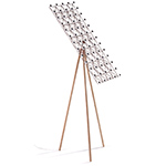 space frame floor lamp  -