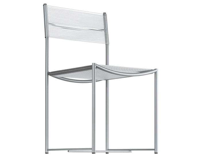 spaghetti side chair