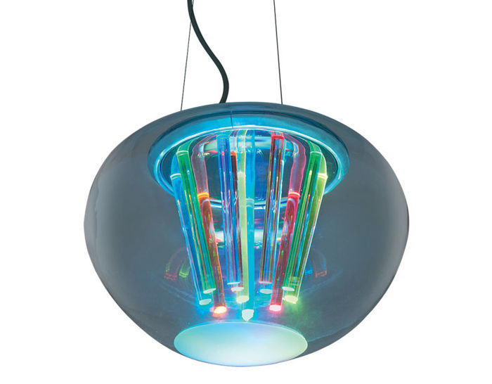spectral suspension lamp
