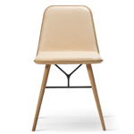 spine wood base chair  -