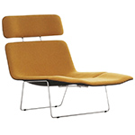 spring lounge chair with headrest & footrest - Bros Bouroullec - Cappellini