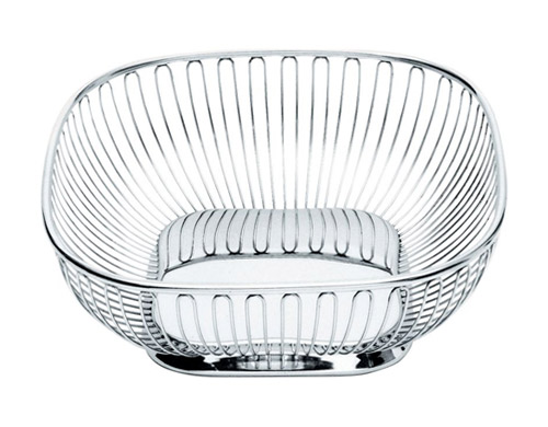 Square Wire Basket | Alessi Square Wire Basket Hivemodern Com