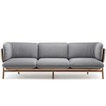 stanley 3 seat sofa 102l  - de la espada
