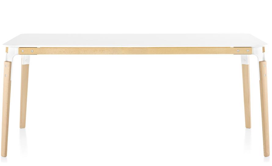 magis steelwood rectangular table