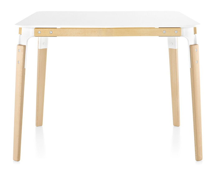 magis steelwood square table