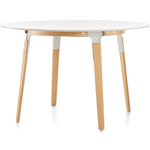 steelwood round table - Bros Bouroullec - magis