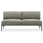 steeve two seat sofa without arms  -