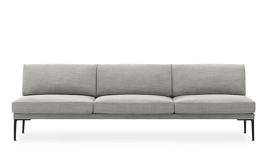 Beau Steeve Three Seat Sofa Without Arms