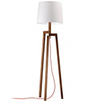 stilt floor lamp  -