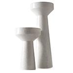 stone candle holder - Tom Dixon - tom dixon