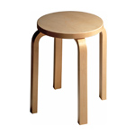 stool e60 - Alvar Aalto - Artek