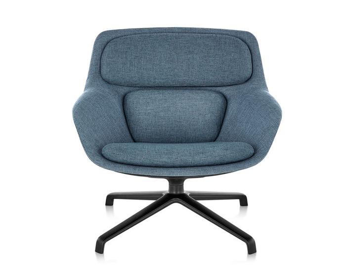 jehs laub lounge chair cor designer sessel shrimp von. Black Bedroom Furniture Sets. Home Design Ideas
