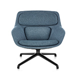 striad™ low back lounge chair with 4 star base  -