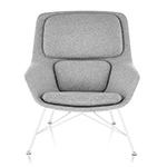 striad™ mid back lounge chair with wire base  -