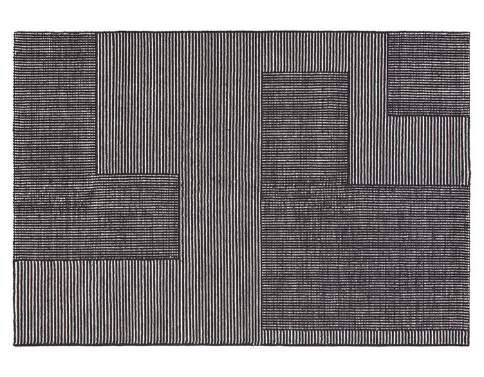 stripe rug rectangular