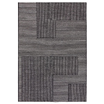 stripe rug rectangular  -