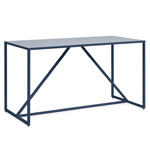 strut large bar height table  - blu dot