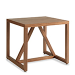 strut wood side table  -