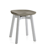 su small stool with concrete seat  - emeco