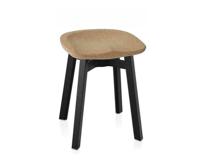 su small stool with cork seat