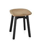 su small stool with cork seat  - emeco