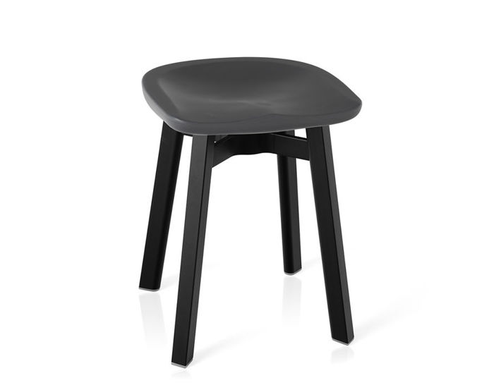 Su Small Stool With Plastic Seat Hivemodern Com