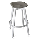 su stool with concrete seat  -