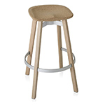 su stool with cork seat  -