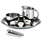 sugar & cream set 90042  - Alessi