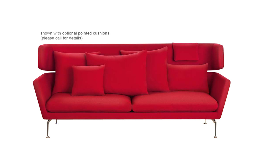 Suita Three Seater Firm Sofa With Head Section
