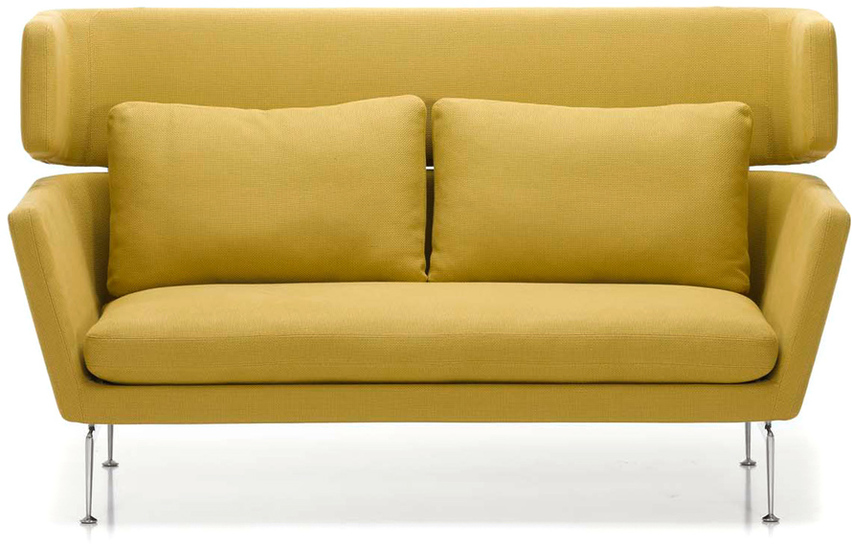 suita two seater firm sofa with head section