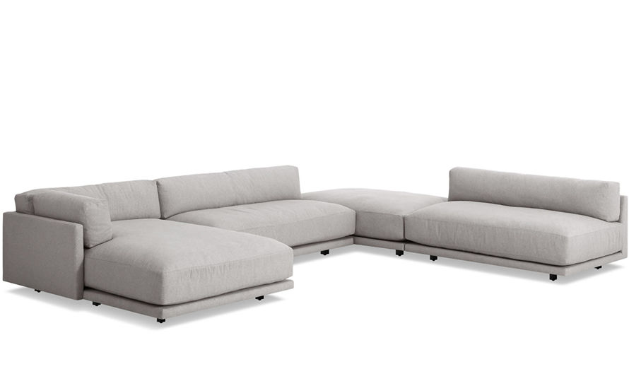 sunday j sectional sofa with chaise