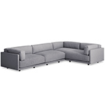 sunday l sectional sofa  - blu dot