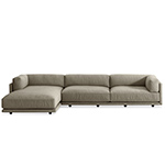 sunday sofa with chaise  -