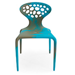 supernatural bicolored perforated back chair 4 pack