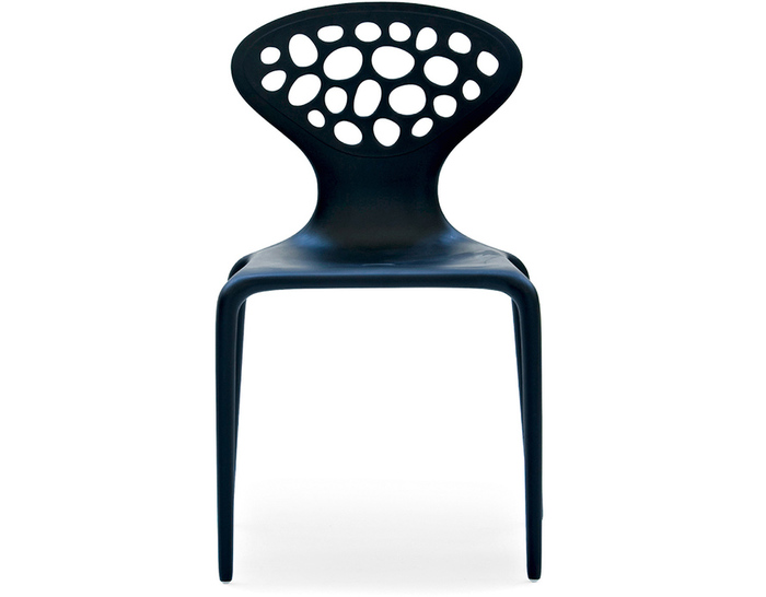 supernatural chair with perforated back