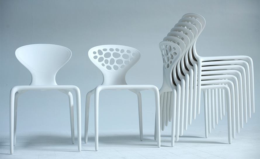 Supernatural Chair With Perforated Back Hivemodern Com