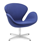 arne jacobsen swan chair  -